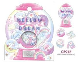 Mellow Dream stickerzakje Crux