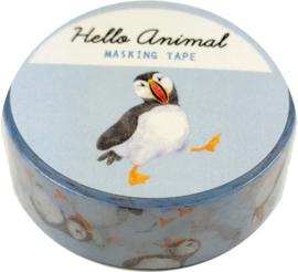 Kamio Japan papegaaiduiker washi tape