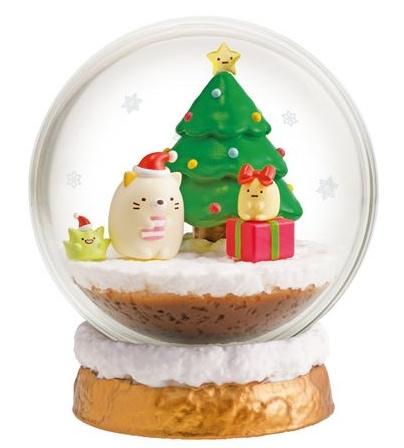Sumikko Gurashi Terrarium  Four Seasons Christmas
