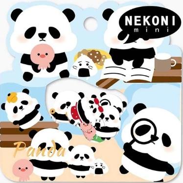 Stickerzakje Nekoni Panda