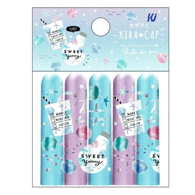 Kira Cap Pencil cap set van 5