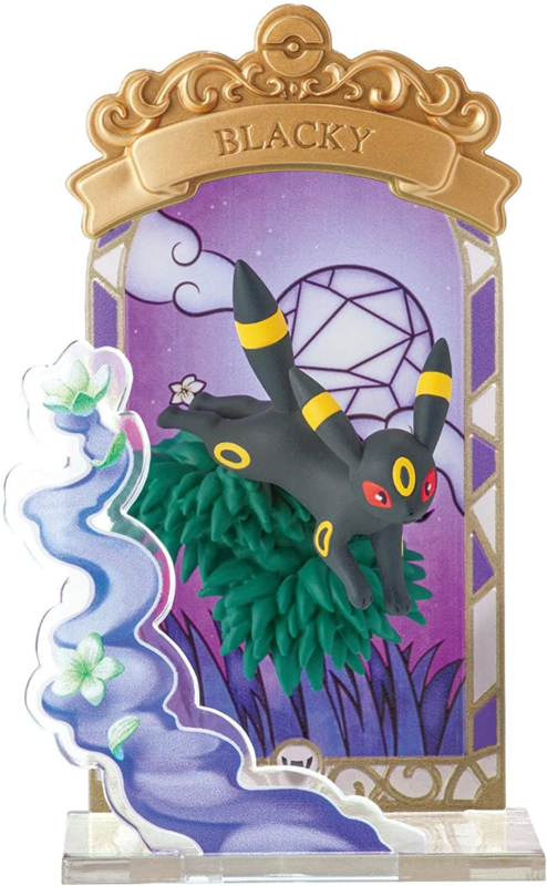 Pokémon stained glass Umbreon