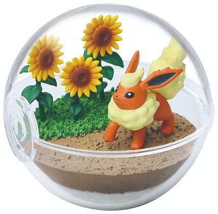 Pokémon Terrarium collectie 8 Flareon