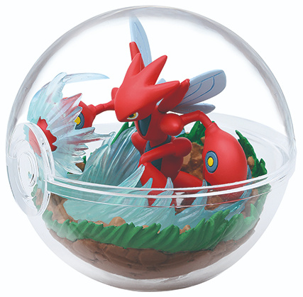 Pokémon Terrarium collectie 8 Scizor