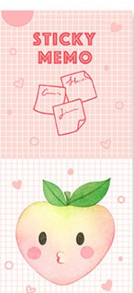 Sticky Notes Perzik