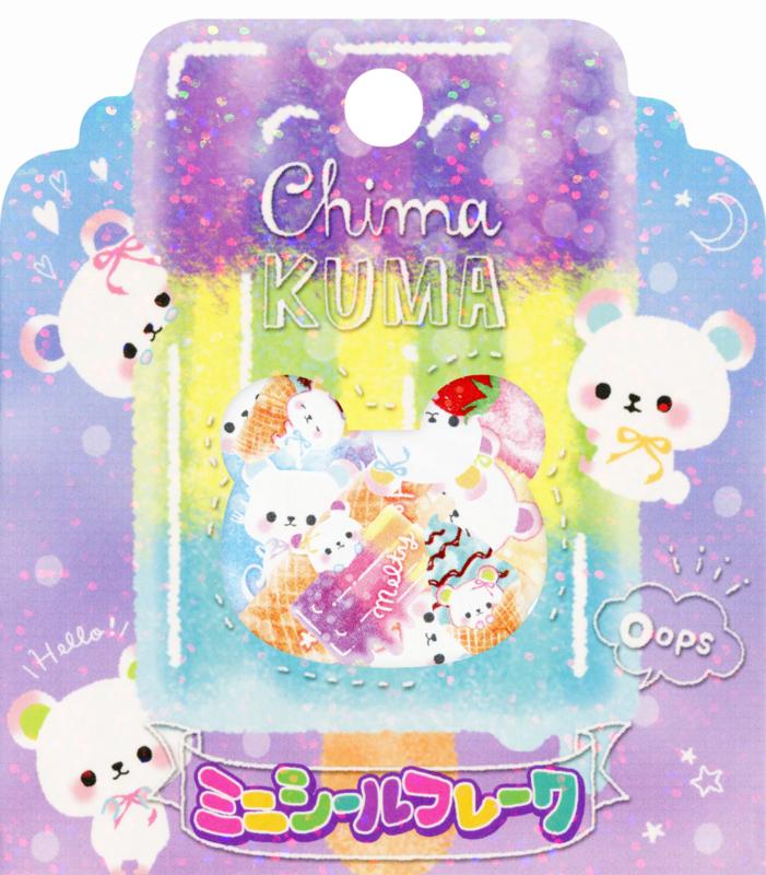 Chima Kuma Stickerzakje