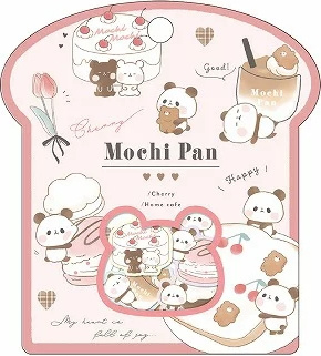 Mochi Pan stickerzakje Kamio Japan