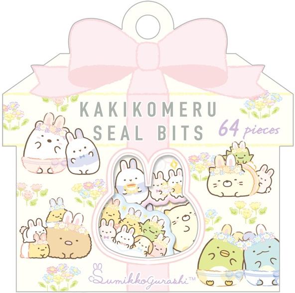 Sumikko Gurashi stickerzakje Lente konijnen San-x