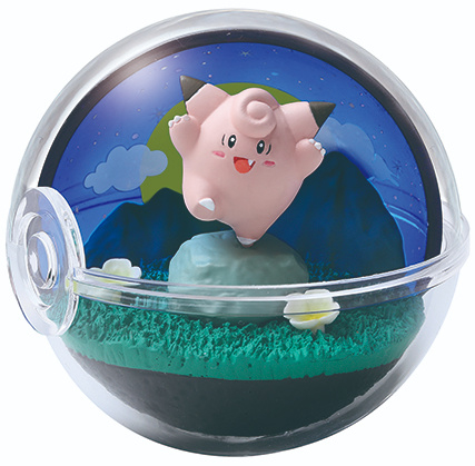 Pokémon Terrarium collectie 8 Clefairy
