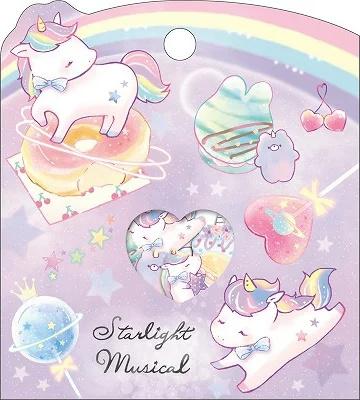 Starlight Musical stickerzakje Crux