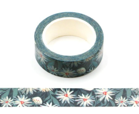 Bloemen washi tape