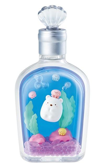 Sumikko Gurashi Marine Bottle Re-ment terrarium Shirokuma