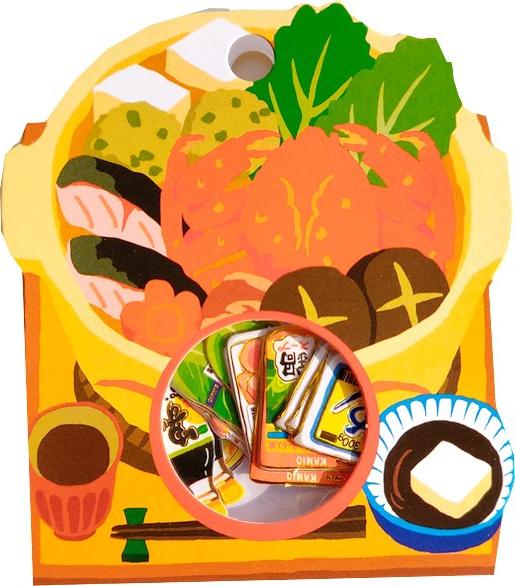 Japans eten 2 stickerzakje