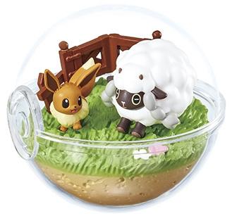 Pokémon Terrarium Ex Galar Eevee & Wooloo