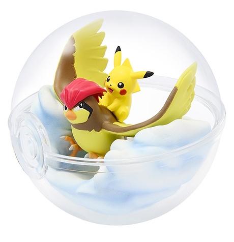 Pokémon Terrarium collectie 5 Pikachu & Pidgeotto
