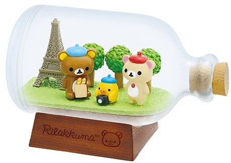 Rilakkuma Travel Re-Ment Parijs