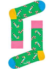 Happy Socks Christmas Candy Cane Socks
