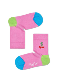 Happy Socks Kids Cherry Embroidery Socks