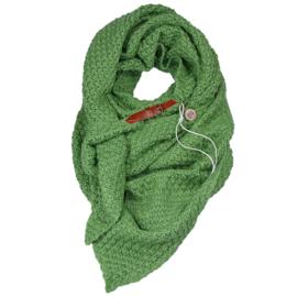 Gebreide Knitten Royale omslagdoek | wintersjaal Lot, Groen