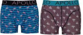 Apollo   Heren boxershorts   2-Pack Giftbox   Tropical