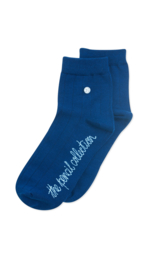 Alfredo Gonzales Short |Low Sock, Pencil Blauw