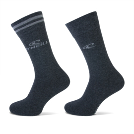 O'Neill Casual Heren Sokken Antraciet | 2-Pack 789002