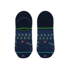 XPooos Footie Socks Pixel King invisible 62028