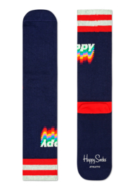 Happy Socks Athletic Happy Crew Sock