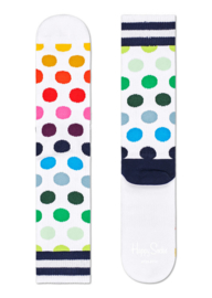 Happy Socks Athletic Big Dot Crew Sock