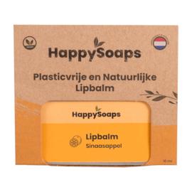 Plasticvrije en Natuurlijke Lipbalm - Sinaasappel
