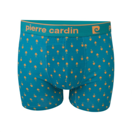 Pierre Cardin Heren Trunk | Boxershort Palm Beach Groen/Geel
