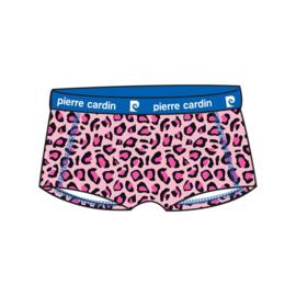 Pierre Cardin Dames Design Hipster/Boxershort Pink Leopard