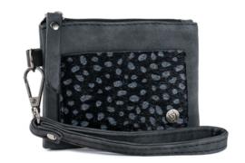 Zwart klein portemoneetje | San Remo