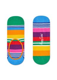 Happy Socks Liner Sock Multi Stripe Orange