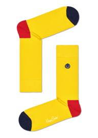 Happy Socks Embroidery Smiley Sock