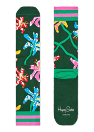 Happy Socks Athletic Lily Crew Sock