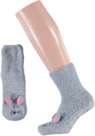 HomeSocks Dames Cosy Socks in Giftbag | Muis