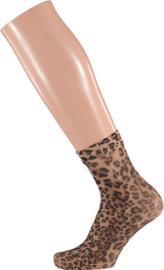 Sarlini Panty enkelkousje Leopard Bruin