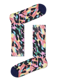 Happy Socks Gradient Leopard Printed Sock