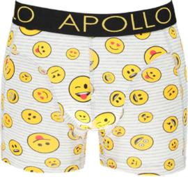 Apollo Heren boxershorts | 2-Pack Giftbox | Smiley Geel