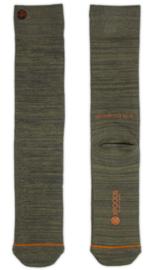 XPooos Essential Bamboo Sokken Khaki/Olivegreen Mel. 67004