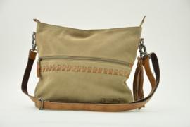 Bag2Bag SUÉDE Shopper - Schoudertas Merida Sand