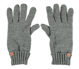Sarlini gebreide Heren handschoen Grey Melange