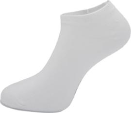 Boru Bamboo Short Sneaker Sok | 2-Pack | Wit