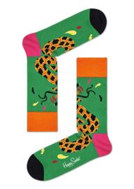 Happy Socks Tropical Snake Sock Groen