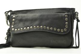 Bag2Bag Schoudertas | Grote Clutch Utah Black