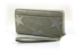 Licht grijze Dames portemonnee met sterren 2.0
