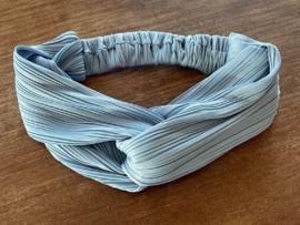 Sarlini Fashion Elastische haarband Bow | Denim Jeans Blauw