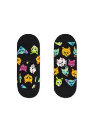 Happy Socks Liner | Sneakersock | Funny Cat