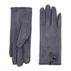 Dames handschoenen Jeans Blue voor Touch Screen